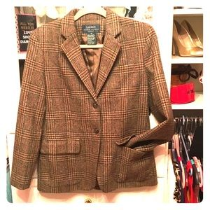 Vintage 1970's Ralph Lauren plaid classic blazer